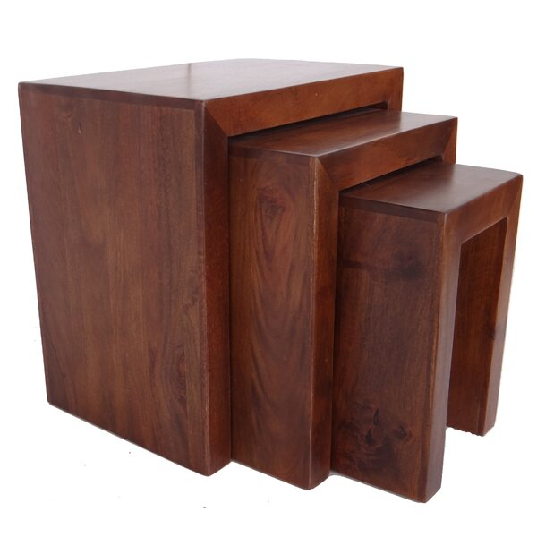 Middlefield 3 Piece Nesting Tables by Millwood Pines Millwood Pines