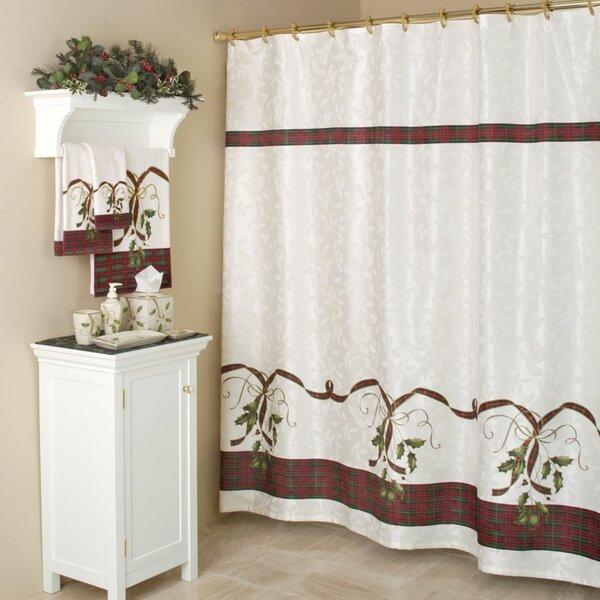 Holiday Nouveau Cotton Rod Pocket Curtain Single Panel by Lenox