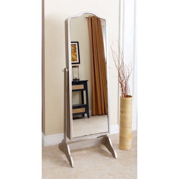 Auston Jewelry Armoire with Mirror by Rosdorf Park