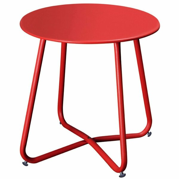 Huntsberry Coffee Steel Bistro Table by Wrought Studio