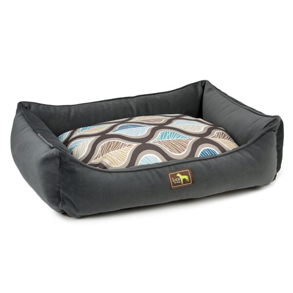 Lounge Bed Bolster with Easy Wash Cover by Luca For Dogs
