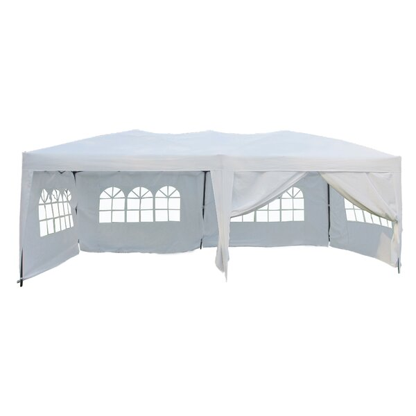 Alvin 20 Ft. W x 10 Ft. D Steel Party Tent by Freeport Park