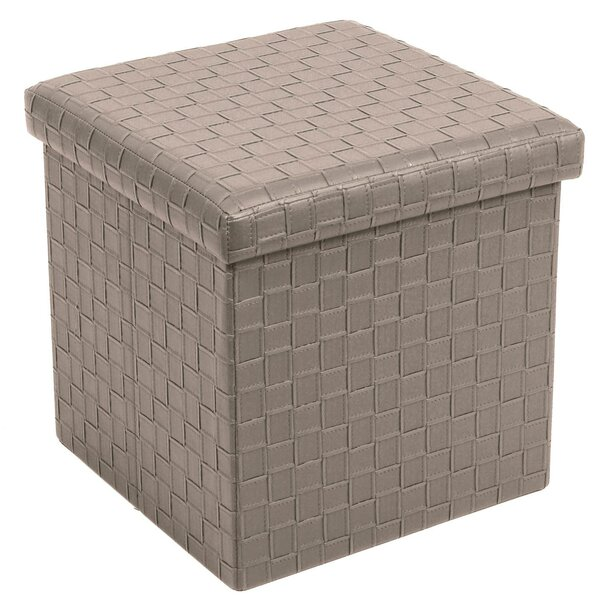 Pfeiffer Folding Storage Ottoman by Winston Porter