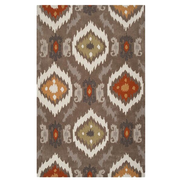 Dolly Brown/Beige Rug by World Menagerie