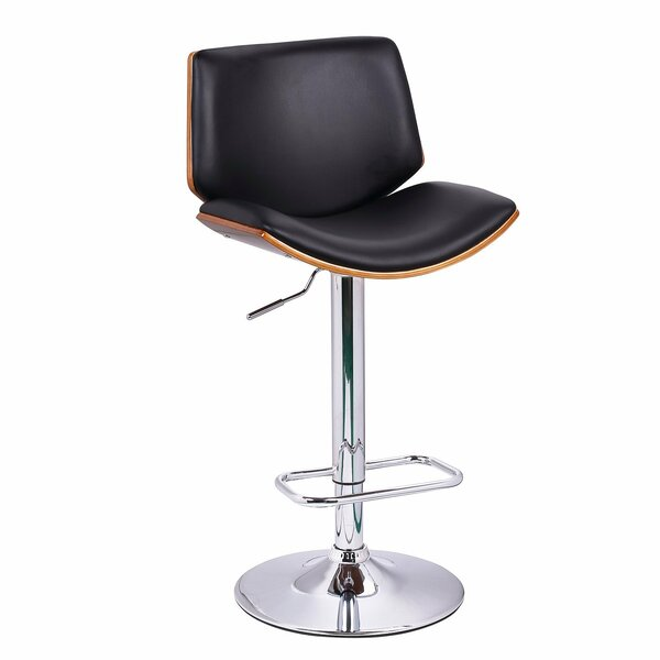 Slocum Adjustable Height Swivel Bar Stool By Brayden Studio