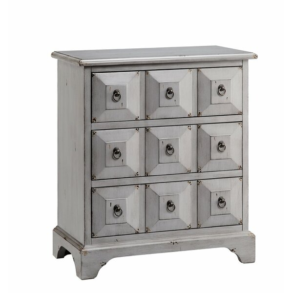 Gerald 3 Drawers Accent Chest By One Allium Way