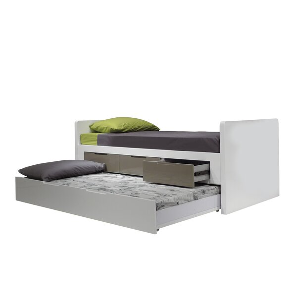 Jack and Jill Twin Storage Platform Bed by Mobital