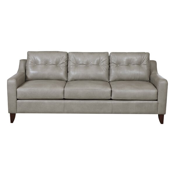 Levell Leather Sofa by Trent Austin Design