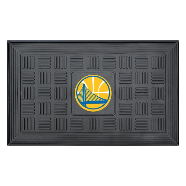 NBA - Golden State Warriors Medallion Doormat by FANMATS