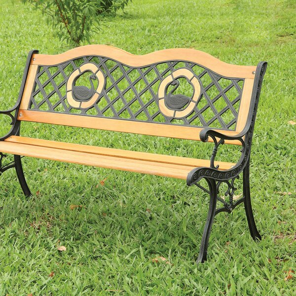Leff Cast Iron Park Bench by August Grove