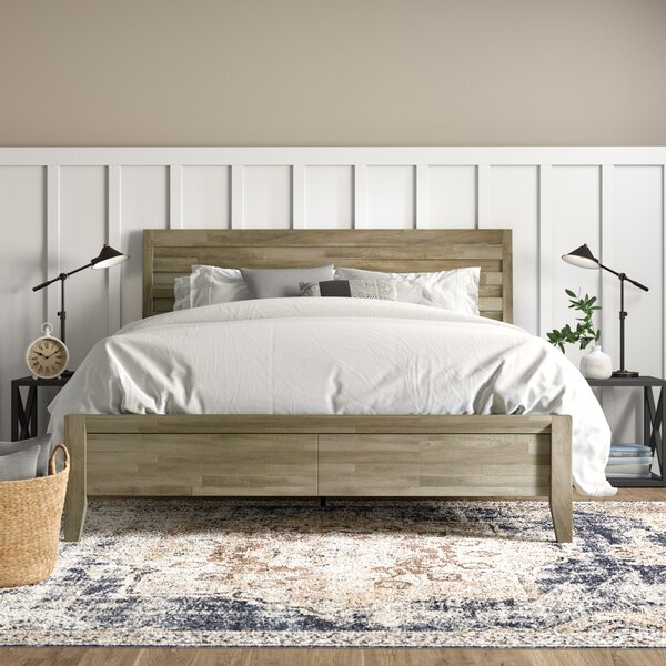 Descartes Standard Bed by Laurel Foundry Modern Farmhouse