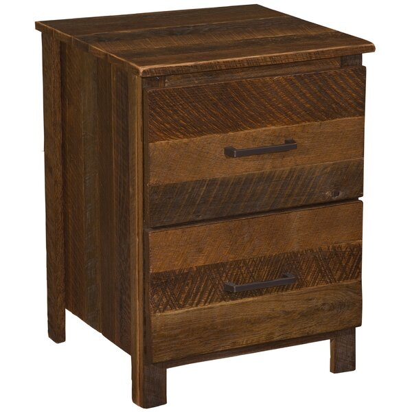 Derik 2 Drawer Nightstand by Union Rustic