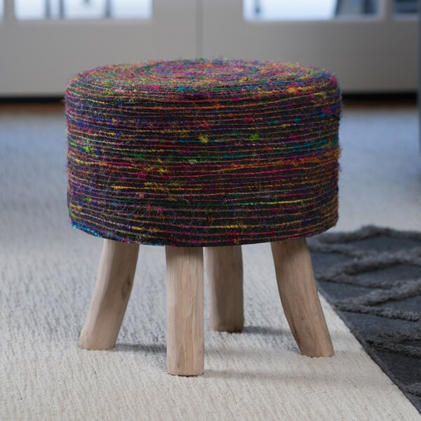 Amgala Upholstered Ottoman By Bungalow Rose Looking for