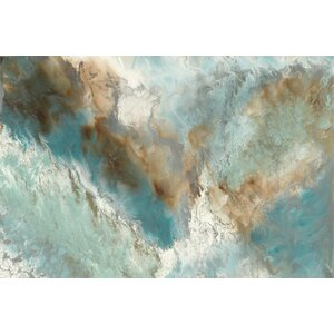 'Liquid Versus Nature' Painting Print on Canvas by East Urban Home