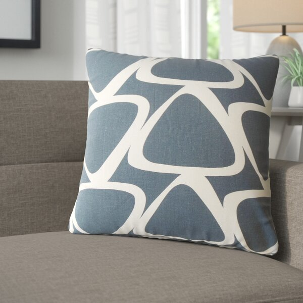 Cherish Geometric Cotton Throw Pillow (Set of 2) by Corrigan Studio