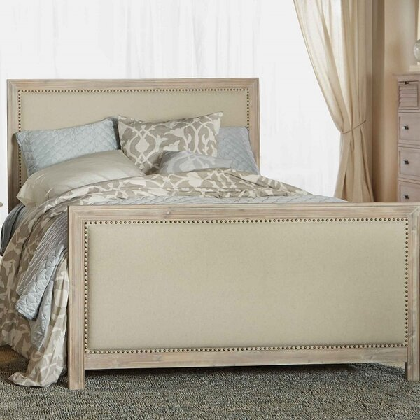 Montcerf Upholstered Platform Bed by One Allium Way