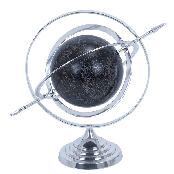 Armillary Sphere World Globe by EC World Imports