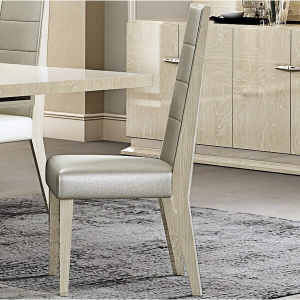 Izquierdo Upholstered Dining Chair (Set of 2) by Orren Ellis