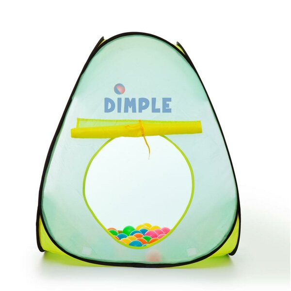 Children Triangle Pop-Up Play Tent by Dimple