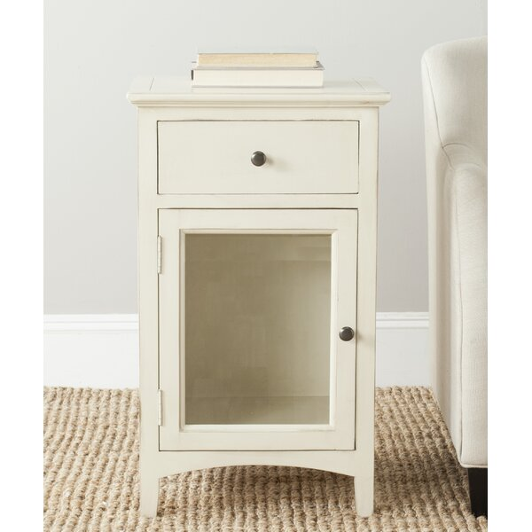 Kaylin End Table With Storage by Ophelia & Co.