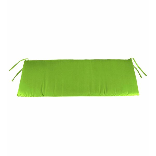 Classic Polyester Outdoor Bench Cushion by Plow & Hearth