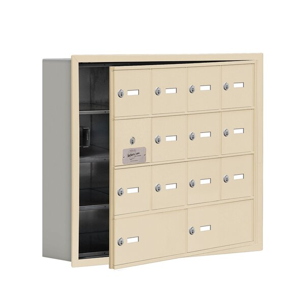 4 Tier 4 Wide EmpLoyee Locker by Salsbury Industries