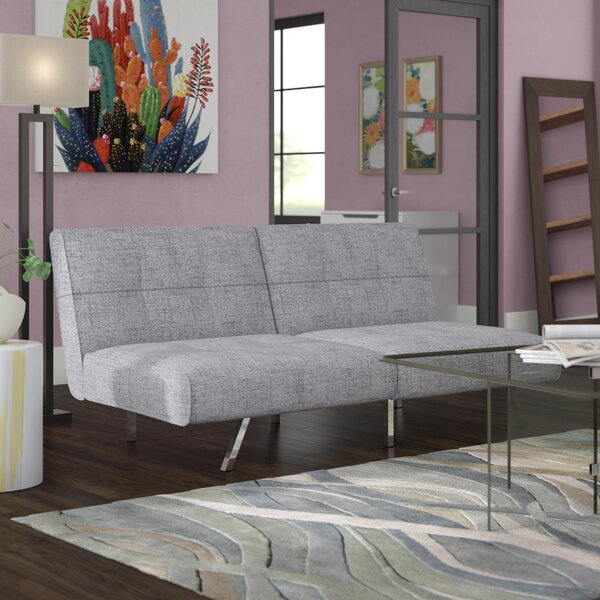 Dariana Ash Convertible Sofa by Zipcode Design