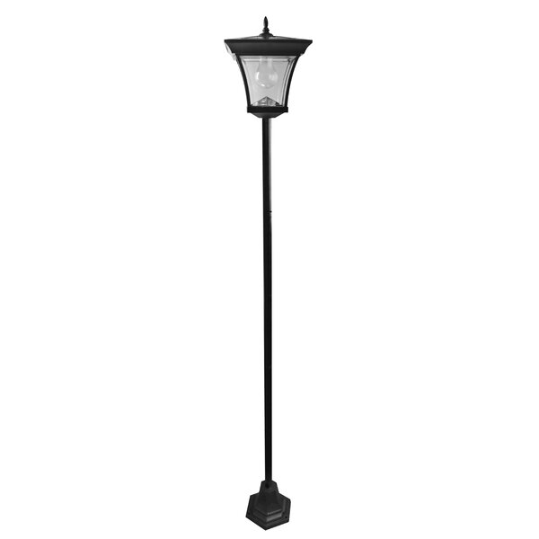 Solar Garden 1-Light LED 72.05 Post Light by Elegant Home Fashions