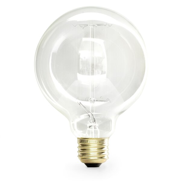 40 Watt Incandescent Light Bulb (Set of 6) by Kikkerland