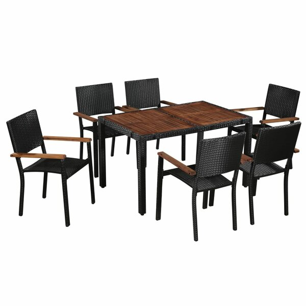 Oundle 7 Piece Dining Set by Sol 72 Outdoor
