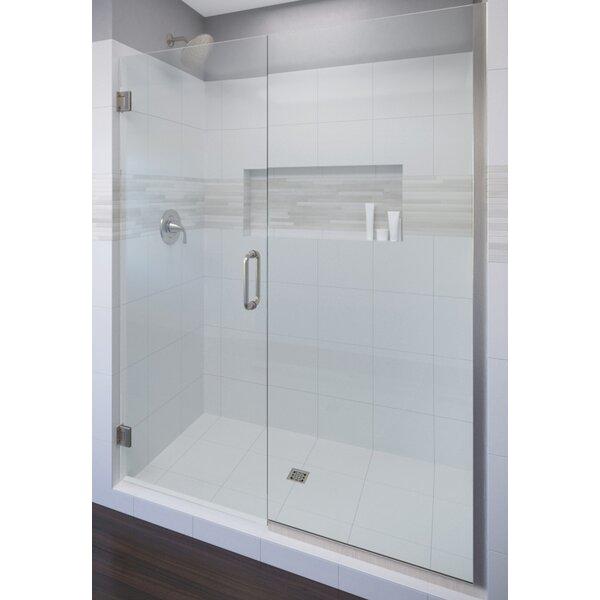 Celesta 58 x 72 Hinged Adjustable Door and Panel Shower Door by Basco