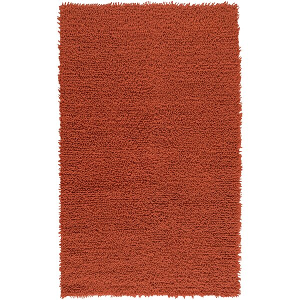 Todd Handmade Flatweave Wool Red Area Rug