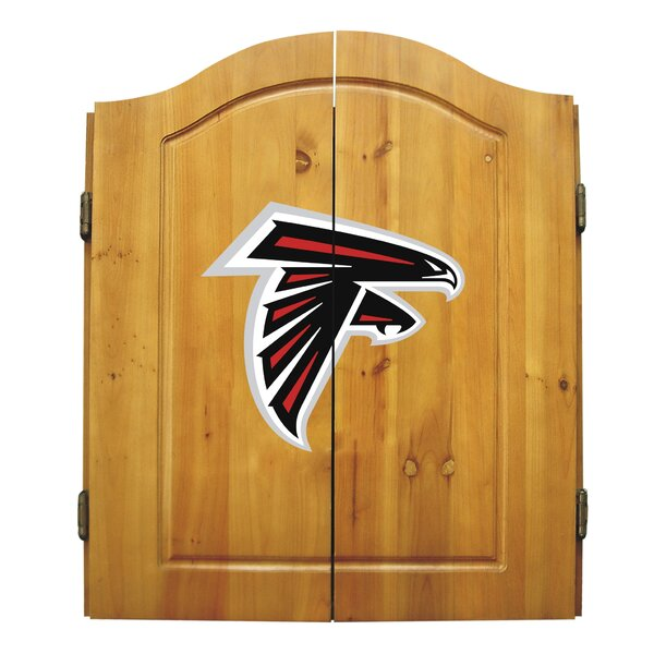 NFL Team Logo Complete Dart Cabinet Set by Imperia