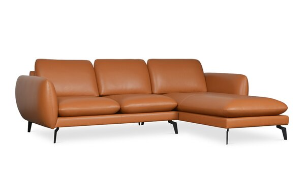 Paloma Leather Sectional by sohoConcept