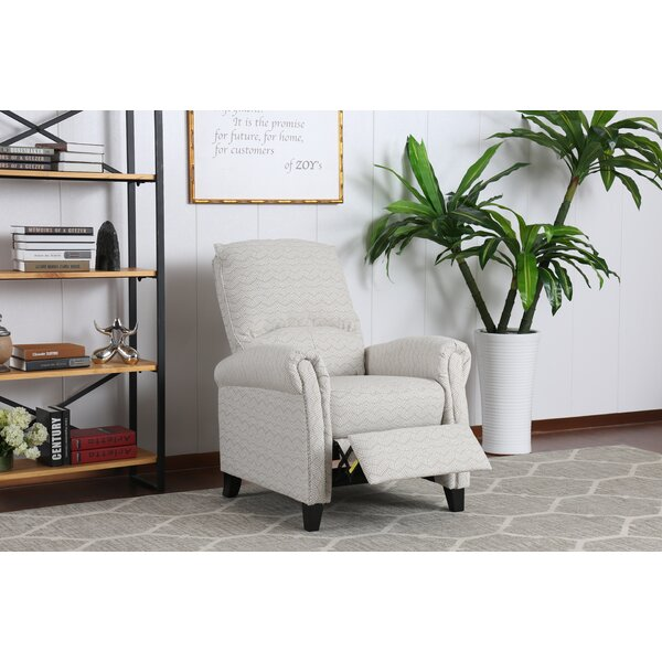 Dark Beige Pushback Recliner W002212795