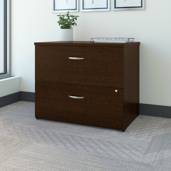 Easy Office 2-Drawer Lateral Filing Cabinet by Bush Business Furniture