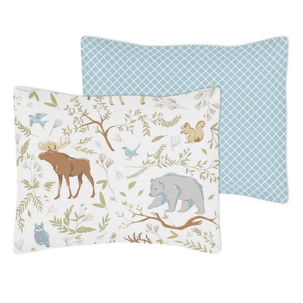 Woodland Toile Standard Pillow Sham by Sweet Jojo Designs