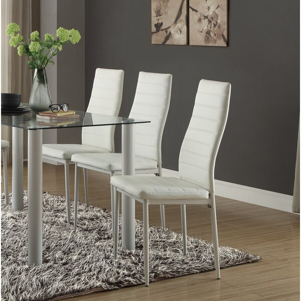 Aubree Upholstered Dining Chair (Set of 2) by Wade Logan