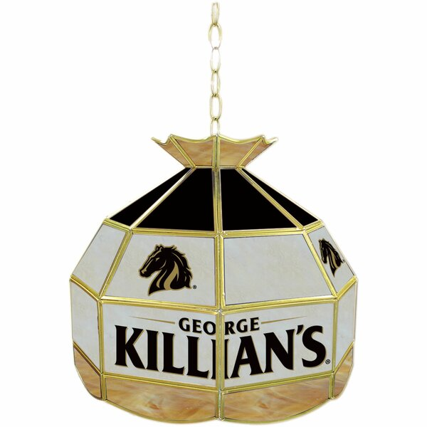 George Killian Stained Glass 16 Tiffany Lamp by Trademark Global