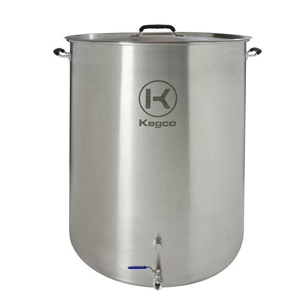 3 Piece 50 Gallon Brew Kettle Set by Kegco