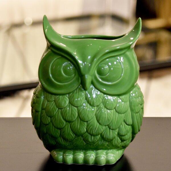 Ceramic Home & Garden Owl by Urban Trends