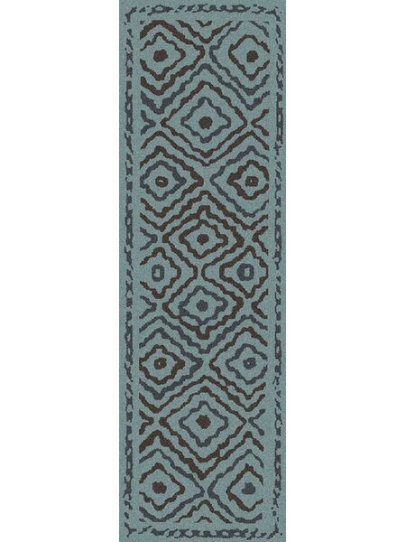 Sala Teal Area Rug by Bungalow Rose