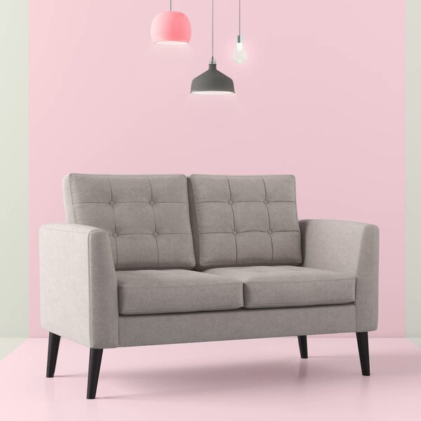 Francis Fabric Loveseat by Hashtag Home