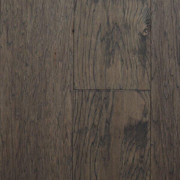 Oslow 7 Engineered Hickory Hardwood Flooring in Gray by Branton Flooring Collection