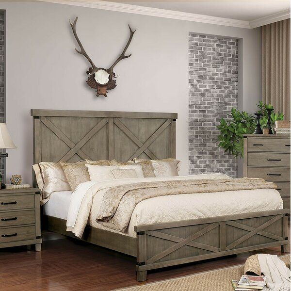 Grecia Standard Bed by Three Posts
