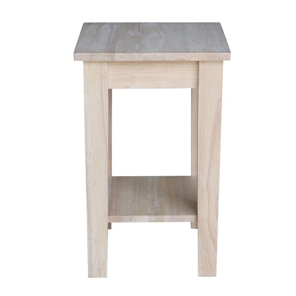 Dufrene Multi-Tiered End Table by Highland Dunes
