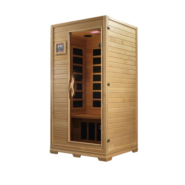 Studio 2 Person FAR Infrared Sauna by Dynamic Infrared