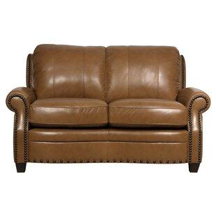 Hubbard Leather Loveseat