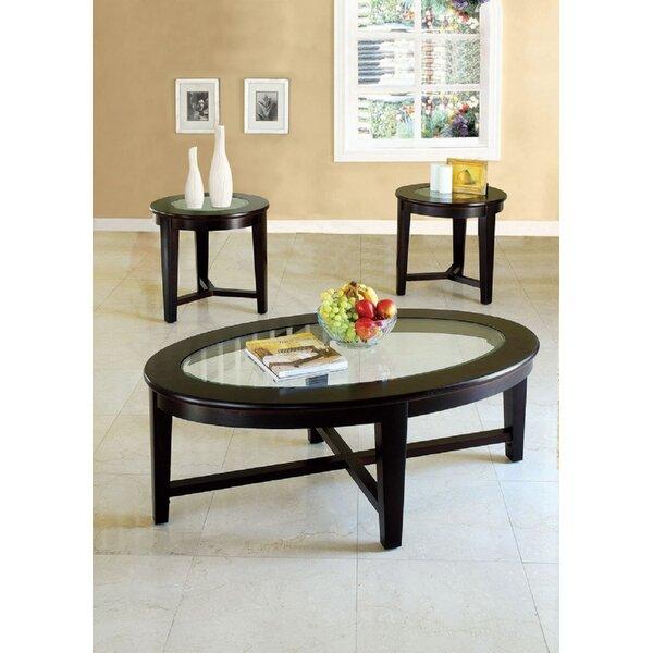 Natoma 3 Piece Coffee Table Set by Red Barrel Studio Red Barrel Studio