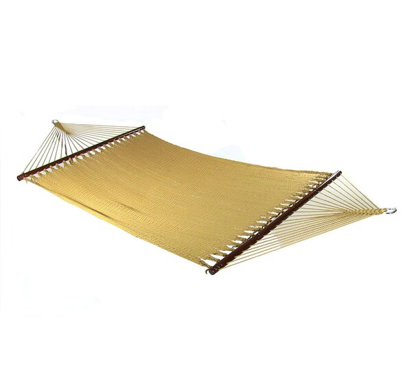 Wesolowski Large 2 Person Rope Tree Hammock by Breakwater Bay